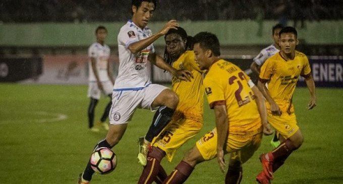 Piala Presiden 2018 : Sriwijaya FC Benamkan Arema FC 3 : 1