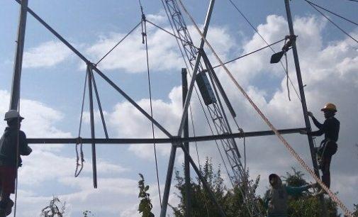 Sekayu Terang Kembali Pasca Tower Tumbang