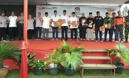 Deklarasi Kampanye Damai Pemilihan Bupati Dan Wakil Bupati Muara Enim Tahun 2018