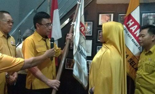 Nurmala Dewi Resmi Jabat Ketua DPC Partai Hanura Kabupaten Banyuasin