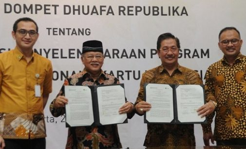 BPJS Kesehatan Dan Dompet Dhuafa Republika Teken Perjanjian Kerjasama