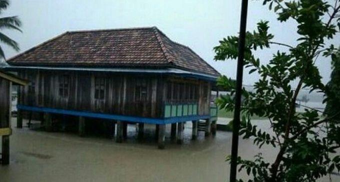 200 Rumah Desa Dangku Terendam Banjir