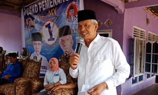 Kampanye di Semende, Cawagub Mawardi Yahya Dijadwalkan Kunjungi Pesantren Al Haromain