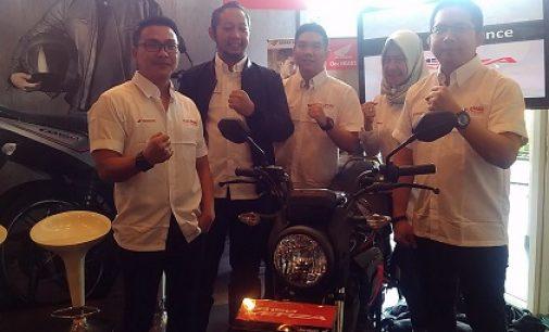 All New Honda CB150 Verza Resmi Mengaspal di Sumsel