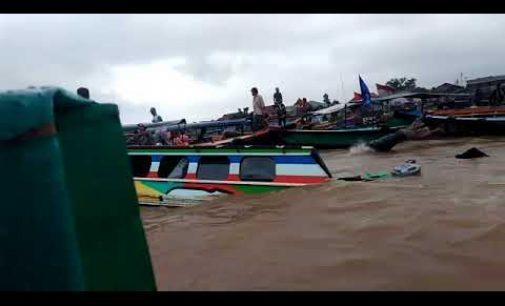 Dua Speedboat Tabrakan di Sungai Musi