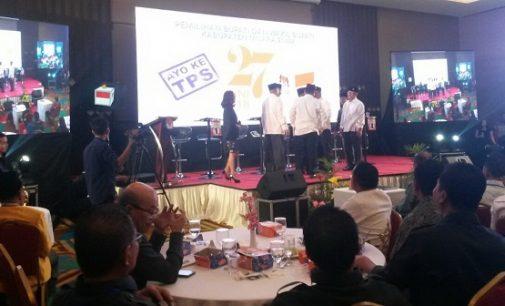 Debat Publik Pemilukada Muara Enim Kurang Mantap, Febrian : EO nya Tidak Professional