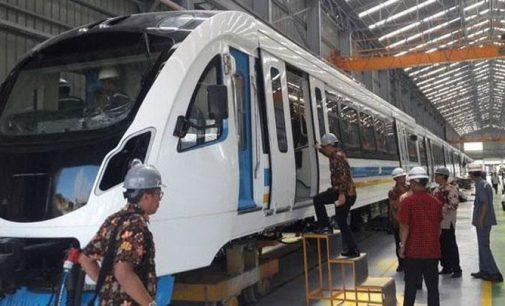 LRT Palembang Telah Diuji Coba Tes Dinamis