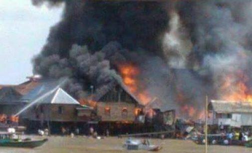 Kebakaran di 15 Ulu Hanguskan 11 Rumah Penduduk