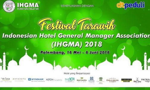 13 Hotel di Palembang Gelar Festival Tarling IHGMA 2018