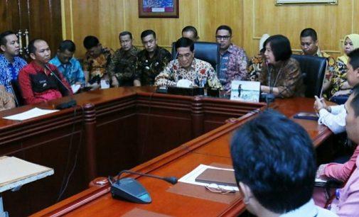 KPP Pratama Seberang Ulu, Ilir Barat Dan Ilir Timur Silaturahmi Dengan Pemkot Palembang