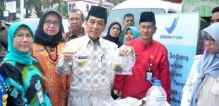 3 Jenis Makanan di Pasar Bedug Jalan Ratna Positif Mengandung Formalin