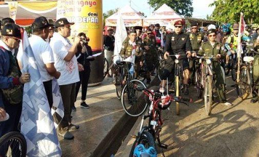 Gelar Fun Bike, Sosialisasikan Pilkada