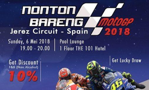 Nonton Bareng MotoGP Hanya di The 1O1 Palembang Rajawali