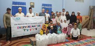 The 1O1 Palembang Rajawali Sahur Bersama Anak – Anak  Panti Asuhan Al-Madinah