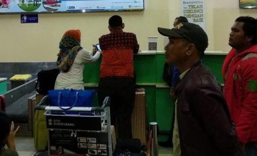 Diperketat, Pengamanan Bandara SMB II Siaga Satu