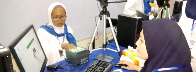 Rekam Biometrik Rampung, Kloter 1 Embarkasi Palembang Siap Berangkat