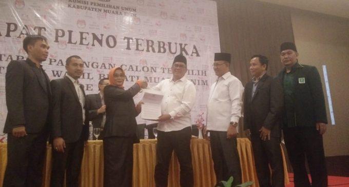 A Yani – Juarsah Resmi Ditetapkan Sebagai Pasangan Calon Terpilih Bupati Dan Wakil Bupati Periode 2018-2023