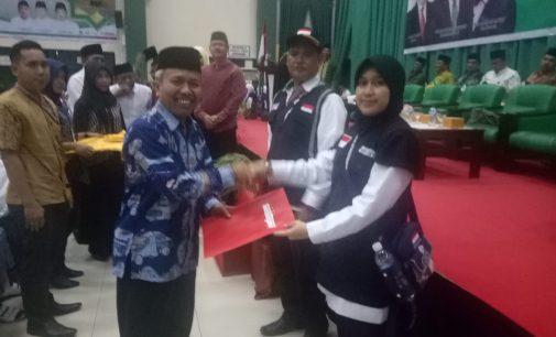 Lepas Jamaah Embarkasi Palembang, Dirjen PHU Tegaskan Komitmen Inovasi Haji