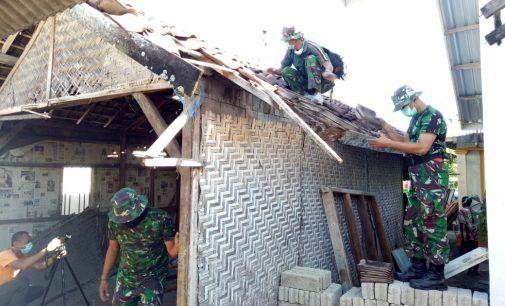 TNI AD Mulai Rehab Rumah Zohri
