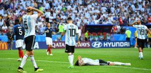 Langkah Argentina Hanya Batas 16 Besar