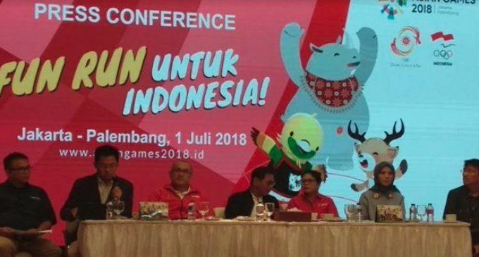 Fun Run Untuk Indonesia Libatkan 3.000 Pelari