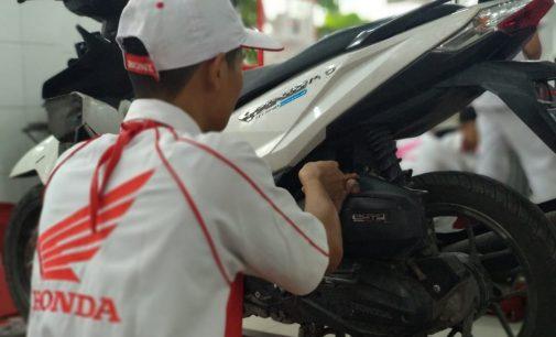 Service Motor Honda di Dealer Berlogo Astra Motor Hanya Rp 7.300