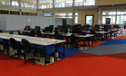 Media Center Asian Games Tinggal Finishing