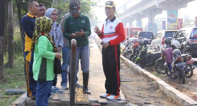 Pimpin Gotong Royong, Akhmad Najib : Beri Kesan Tamu Asian Games Dengan Kebersihan Kota Palembang
