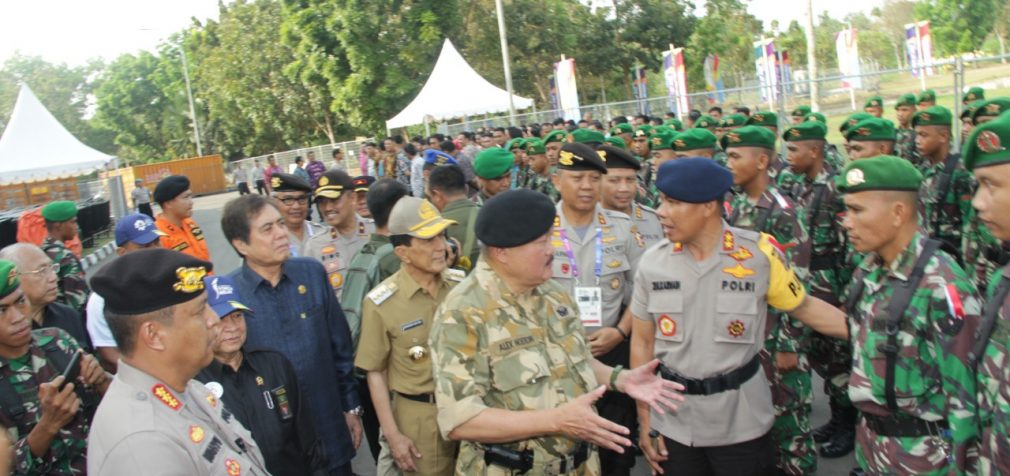 Polda Sumsel Gelar Apel Pasukan Operasi Among Raga Musi 2018