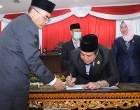 DPRD Sumsel Tetapkan HDMY Gubernur Dan Wakil Gubernur Terpilih 2018