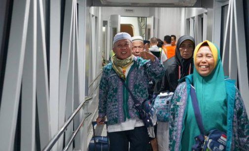 Malam Ini, 445 Jamaah Kloter 1 Tiba di Palembang