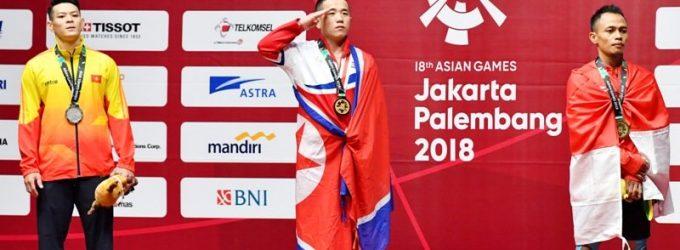 Indonesia Peringkat 4 Perolehan Sementara Medali Asian Games
