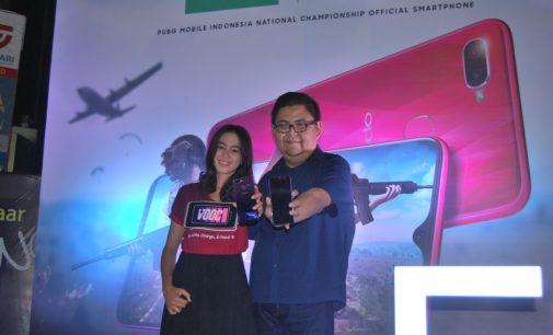 Oppo Perkenalkan Perangkat F9 di Palembang