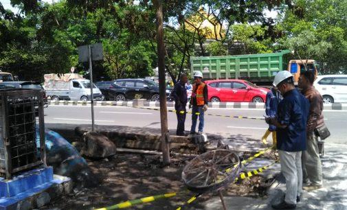 PGN Amankan Jaringan Pipa Gas Yang Terdampak Kebakaran di Palembang