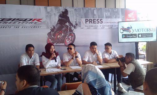 Lebih Gagah dan Agresif, New Honda CB150 Streetfire & New Honda CBR250RR Ramaikan Pasar Motor Sport di Sumsel
