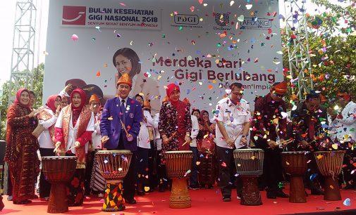 Kerusakan Gigi Penduduk Palembang Mencapai 530 Gigi Per 100 Orang