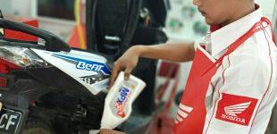 Besok, Jangan Lupa Ganti Oli Motor Honda, Dapatkan Diskon Servis 50% di AHASS