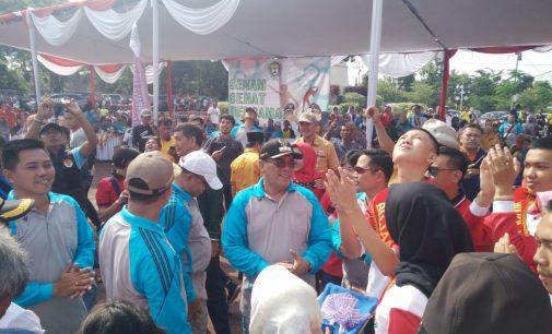 Bupati dan Wakil Bupati Peringati Hari Sumpah Pemuda dan Deklarasi Damai Pemilu Tahun 2019