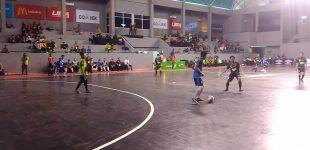 LIMA Futsal 2018 : USU Tekuk UTP, Amik Bina Sriwijaya Menang Besar