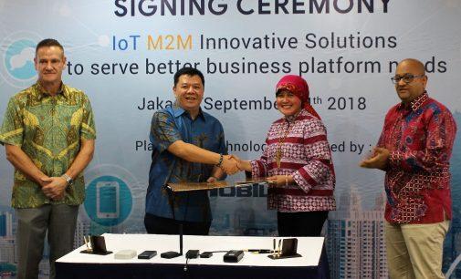 Indosat Ooredoo  Business Dan BINI Jalin Kerja Sama  IoT Solution