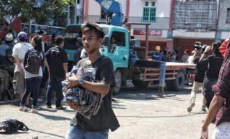 45 Orang Penjarah Dikawasan Gempa Palu Dibekuk Polisi