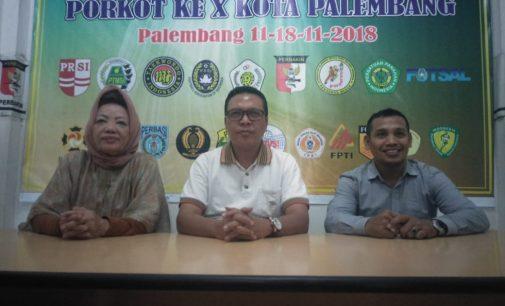2000 Atlet Siap Bertanding di Porkot Ke-X Kota Palembang