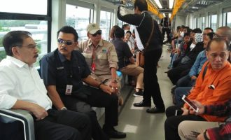 Pulang Kampung, Antasari Azhar Jajal LRT