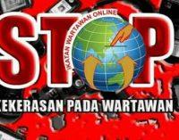 IWO Sumsel Kecam Arogansi Walpri Gubernur Sumsel Terhadap Wartawan
