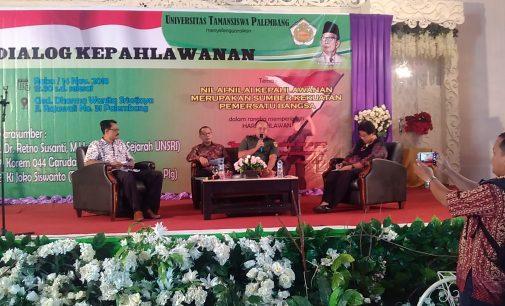 Unitas Palembang Gelar Dialog Kepahlawanan dan Lomba Karya Sastra Puisi