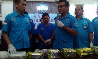 BNNP Sumsel Tangkap Bandar Sabu Asal Tulung Selapan