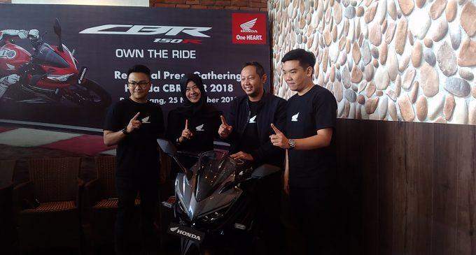 Resmi Mengaspal di Sumsel, New Honda CBR150R Bidik Generasi Milenial