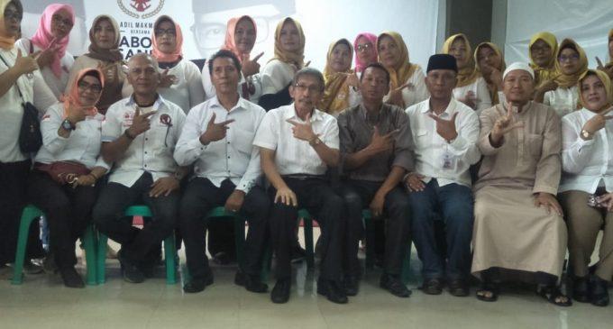 DPD Laskar Macan Asia Sumsel Deklarasi Dukung Parabowo-Sandi