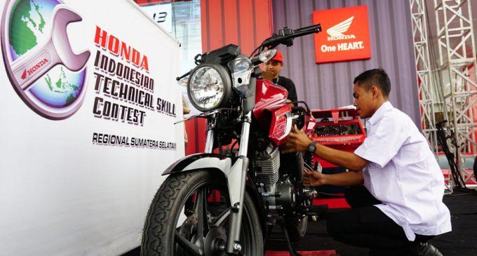 Mechanic Battle, Ajang Adu Skill Mekanik AHASS Palembang