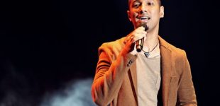 Marcell Semarakan Perayaan Tahun Baru di Wyndham Opi Hotel Palembang